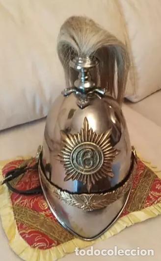 Militaria: Casco de caballería - Foto 2 - 133583398