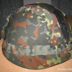 Militaria: CASCO MILITAR POLACO WZ50,CON FUNDA CAMO.. Lote 210053847