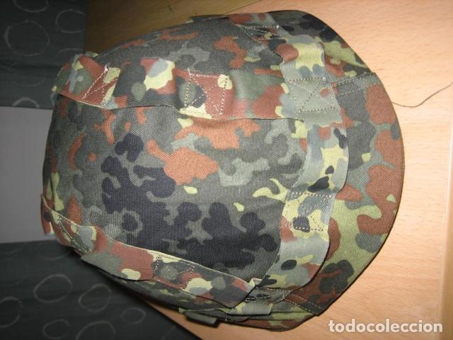Militaria: Casco militar polaco WZ50,con funda camo. - Foto 3 - 137439086