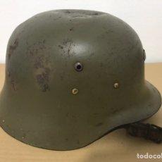 Militaria: CASCO MILITAR Z 42 PRIMER MODELO. Lote 138616237