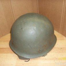 Militaria: CASCO MILITAR CON BARBUQUEJO. Lote 139067366