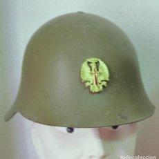 Militaria: ESPAÑA - CASCO ACERO E.T. MODELO 37 1945. Lote 139697446