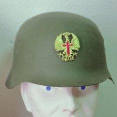 Militaria: ESPAÑA - CASCO ACERO E.T. MODELO Z 1970. Lote 139697666