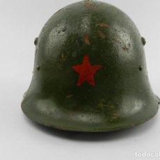 Militaria: ANTIGUO CASCO MODELO ALEMÁN FABRICADO PARA BULGARIA MODELO SEGUNDA GUERRA MUNDIAL. Lote 140493626