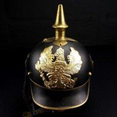 Militaria: ELMETTO PRUSSIANO MILITARE TEDESCO RIPRODUZIONE. Lote 140511530