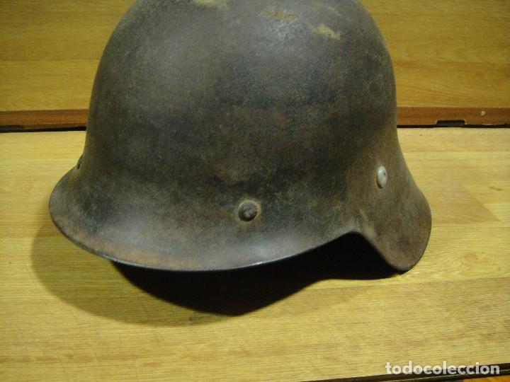 Militaria: autentico casco de la guerra civil - frente de teruel - Foto 2 - 142221538