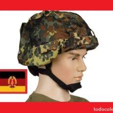 Militaria: BW FUNDA DE CASCO / COVER COMBATE CAMUFLAJE TALLA 51-54 NUEVO. Lote 145871082