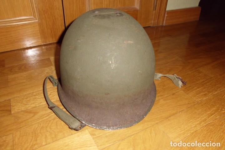 CASCO AMERICANO M1 SEGUNDA GUERRA MUNDIAL (Militar - Cascos Militares )