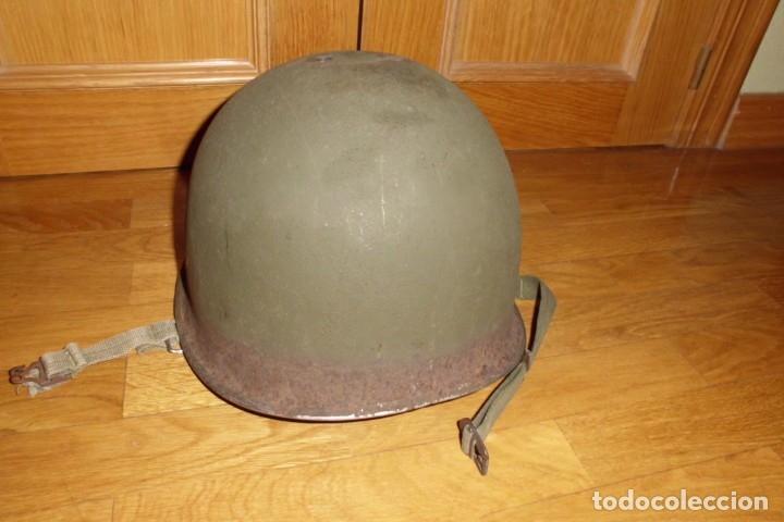 Militaria: CASCO AMERICANO M1 SEGUNDA GUERRA MUNDIAL - Foto 3 - 146302206
