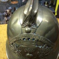 Militaria: ANTIGUA CASCO BOMBEROS FRANCES 1914. Lote 146922382