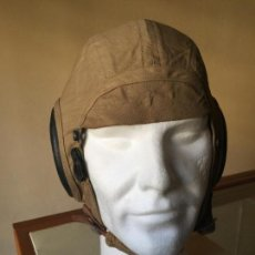 Militaria: USA, ARMY AIR FORCES, II WW, GORRO VUELO AN-H-15, MEDIUM. Lote 147461270
