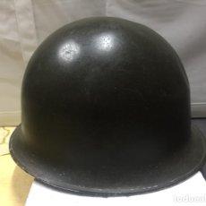 Militaria: CASCO MILITAR COMPLETO (CASCO-SOTOCASCO) SEGUNDA GUERRA MUNDIAL. . Lote 147564286