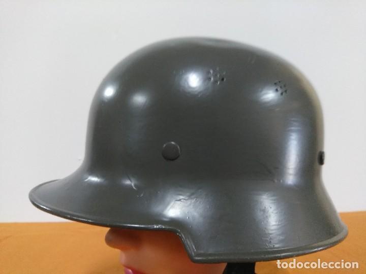 Militaria: Casco aleman M-34 - Foto 2 - 147592198