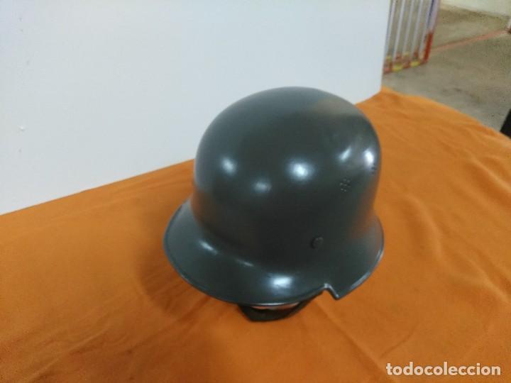 Militaria: Casco aleman M-34 - Foto 3 - 147592198