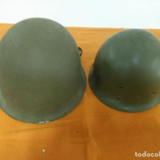Militaria: CASCO FRANCES M51 TIPO M1 AMERICANO. Lote 147593722
