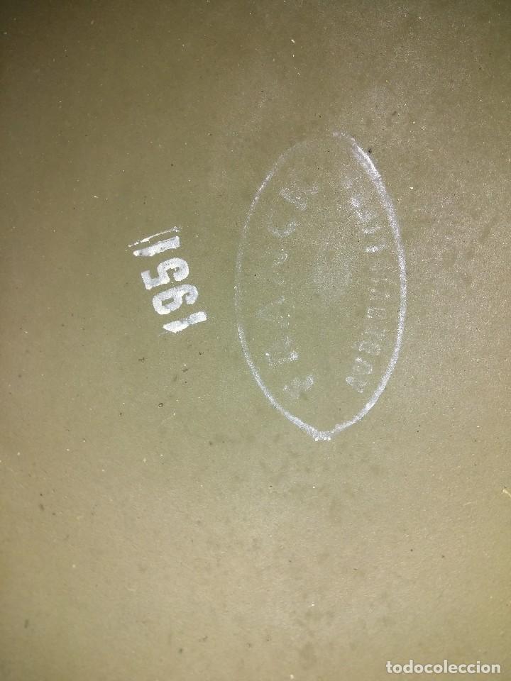Militaria: CASCO FRANCES M51 TIPO M1 AMERICANO - Foto 2 - 147593722