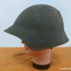 Militaria: CASCO SUIZO MODELO 1918, PINTURA RUGOSA. Lote 147597130