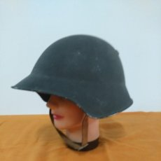 Militaria: CASCO SUIZO MODELO 1918, PINTURA RUGOSA. Lote 147597334