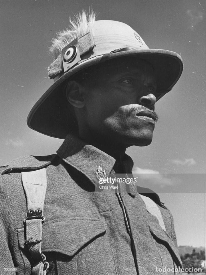 Militaria: CASCO TROPICAL DEL EJÉRCITO DE ETIOPÍA. MUY RARO. - Foto 15 - 147886294