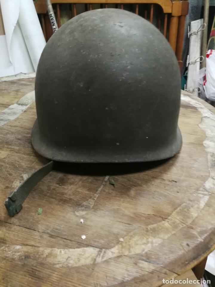 Militaria: ANTIGUO CASCO MILITAR, CON SU INTERIOR, GERRA CIVIL - Foto 3 - 151180962