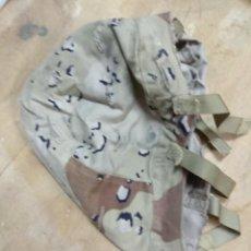 Militaria: FUNDA DE CASCO USADA PERO BUEN ESTADO MIMETISMO DESIERTO. Lote 151351850