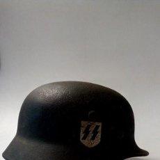 Militaria: CASCO ALEMANIA NAZI 2º GUERRA MUNDIAL WALFEN SS EN PERFECTO ESTADO CON CALCA ORIGINAL. Lote 151359266