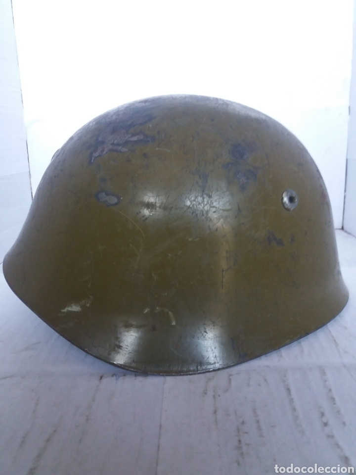 Militaria: Casco militar búlgaro - Foto 2 - 151850845