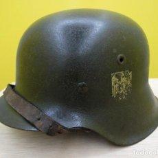 Militaria: CASCO ALEMAN DE LA II GUERRA MUNDIAL. Lote 152055378