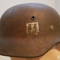 Militaria: CASCO ALEMÁN SS.. Lote 152191266