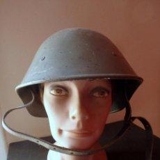 Militaria: (JX-190301) CASCO RUMANO MOD. 1923-27 , SEGUNDA GUERRA MUNDIAL (ELMETTI 21.5) .. Lote 153334158