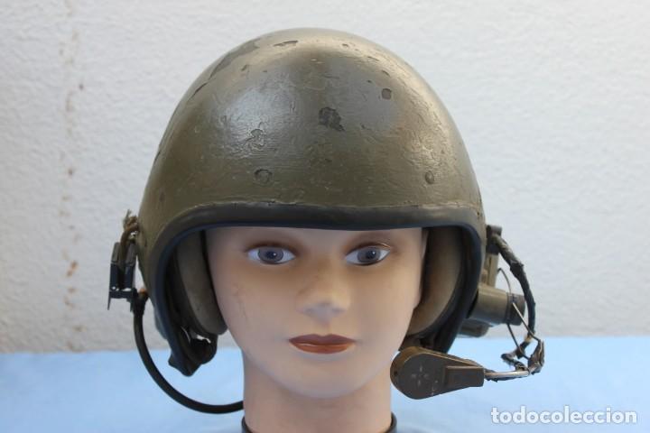 Militaria: CASCO CARRISTA AMERICANO VIETNAM TANQUISTA - Foto 2 - 154488694
