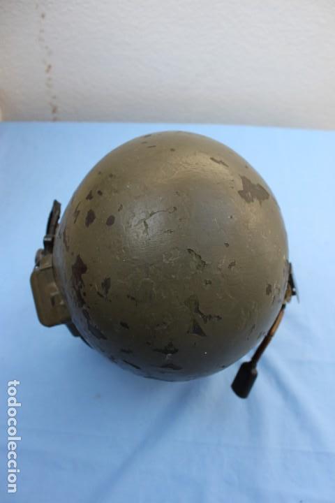 Militaria: CASCO CARRISTA AMERICANO VIETNAM TANQUISTA - Foto 5 - 154488694