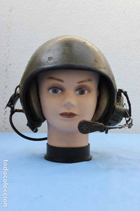 CASCO CARRISTA AMERICANO VIETNAM TANQUISTA (Militar - Cascos Militares )