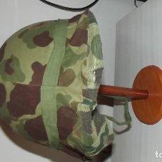 Militaria: FUNDA DE CASCO MOSQUITERA AMERICANA M-1 SEGUNDA GUERRA MUNDIAL COREA Y VIETNAM. Lote 158973082
