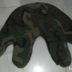 Militaria: FUNDA DE CASCO ERDL GUERRA DE VIETNAM PRIMER MODELO MUY RARO. Lote 160860150