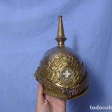 Militaria: * ANTIGUO CASCO DE PINCHO DE CABALLERIA DE ALFONSO XII, LANCEROS DE LA REINA, ORIGINAL. ZX. Lote 161409390