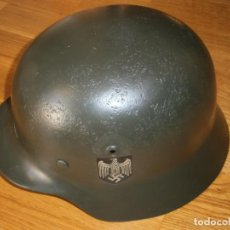Militaria: CASCO ALEMÁN M-35. Lote 161447334