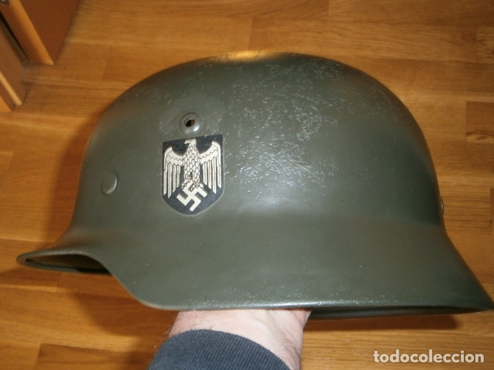 Militaria: casco alemán m-35 - Foto 10 - 161447334