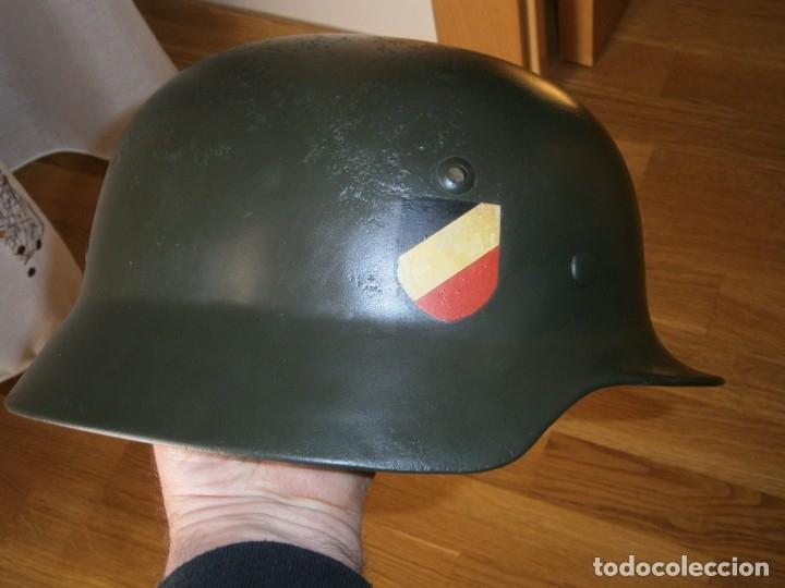 Militaria: casco alemán m-35 - Foto 12 - 161447334