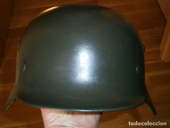 Militaria: casco alemán m-35 - Foto 14 - 161447334