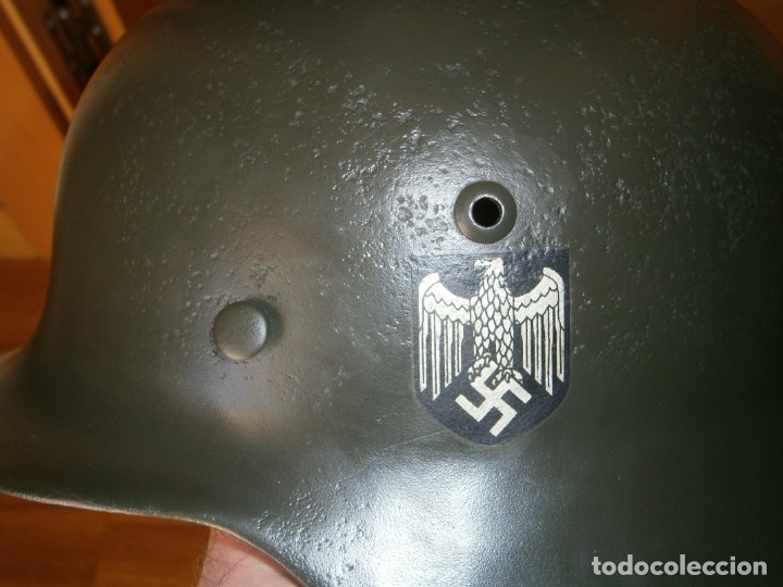 Militaria: casco alemán m-35 - Foto 15 - 161447334