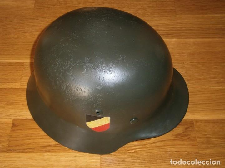 Militaria: casco alemán m-35 - Foto 18 - 161447334