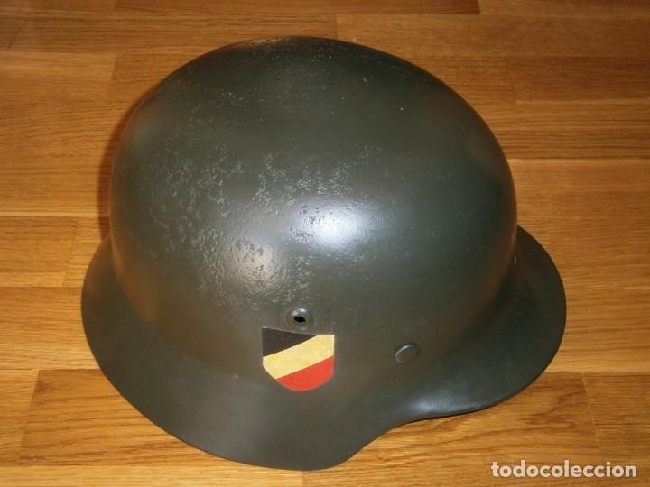 Militaria: casco alemán m-35 - Foto 19 - 161447334