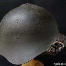 Militaria: CASCO RUSO SSH36, DEL FRENTE RUSO DE 1941 EN LA 2º GUERRA MUNDIAL. INTERIOR Y PINTURA ORIGINAL.. Lote 161665454