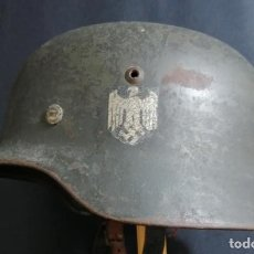 Militaria: CASCO ALEMÁN DE COMBATE DE WEHRMACHT M35 . Lote 161873314