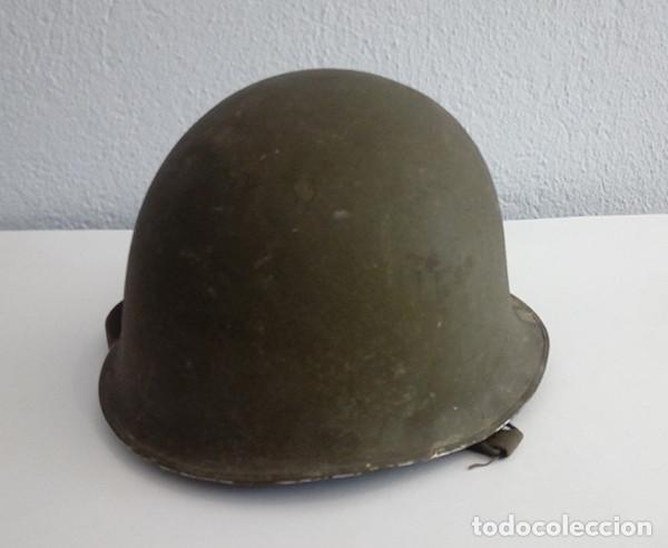 Militaria: Casco francés M51 - Foto 2 - 163393442