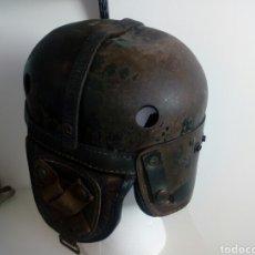 Militaria: CASCO CRASH BELGA TANQUISTA. Lote 163742217