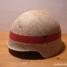 Militaria: ANTIGUO Y RARO CASCO M-21 SIN ALAS DE GUERRA CIVIL CON PINTURA ORIGINAL, DEFENSA PASIVA ?. Lote 163995250