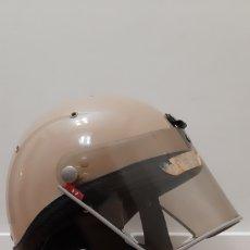 Militaria: CASCO POLICIA ARMADA REPINTADO A MARRÓN. Lote 164307466