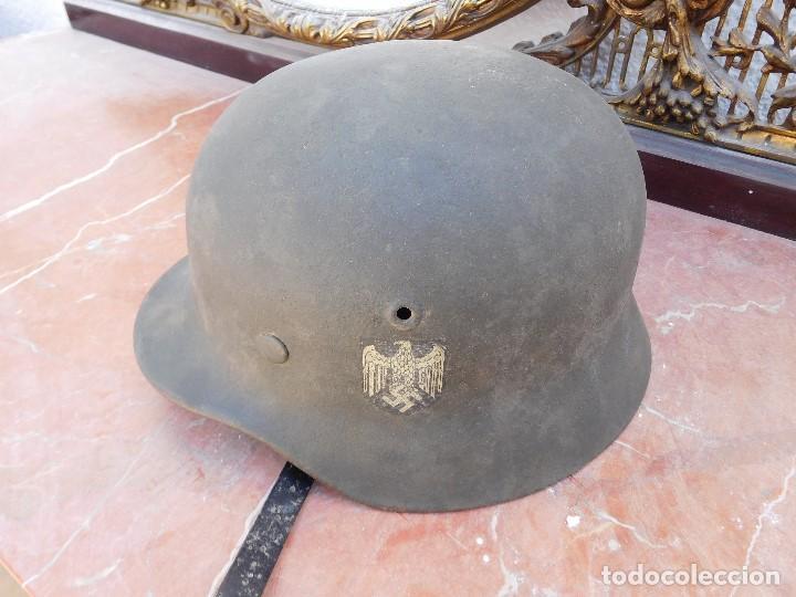 CASCO DE LA DIVISIÓN AZUL (Militar - Cascos Militares )